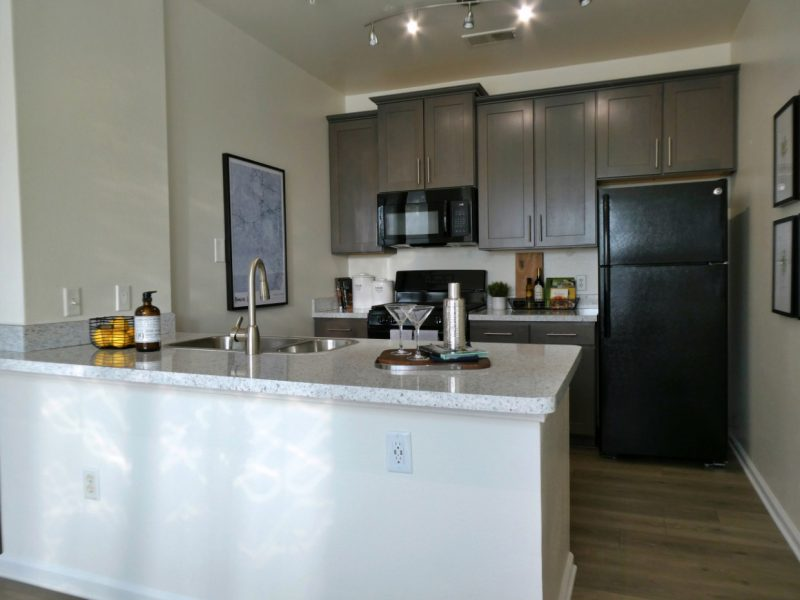 TGM Ridge Apartments Kitchen Island 4