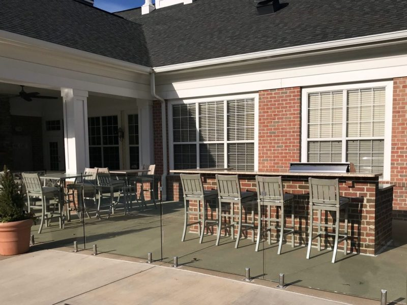 TGM Ridge Apartments Outdoor Kitchen